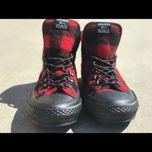 Converse Woolrich Red Black 7W